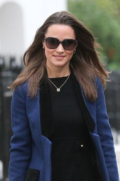 LONDON, UNITED KINGDOM - NOVEMBER 03: Pippa Middleton sighting out in South Kensington on November 3, 2011 in London, England. (Photo by Alex Moss/FilmMagic)