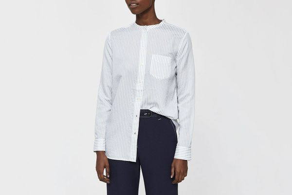 A.P.C. Marie Striped Blouse