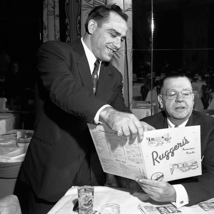 Yogi Berra once wandered through restaurants, explaining menus to anyone that asked.