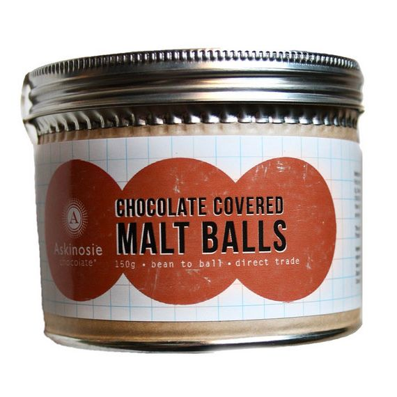 Askinosie Chocolate Covered Malt Balls