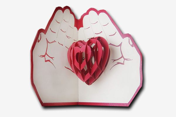 3-D Pop-up Love Gift Card Greeting Card
