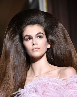 20183a777b This Is the Biggest, Best Hair at Haute Couture Fashion Week