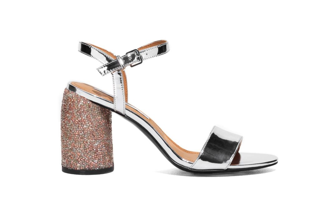 & Other Stories Rhinestone Heel Sandal