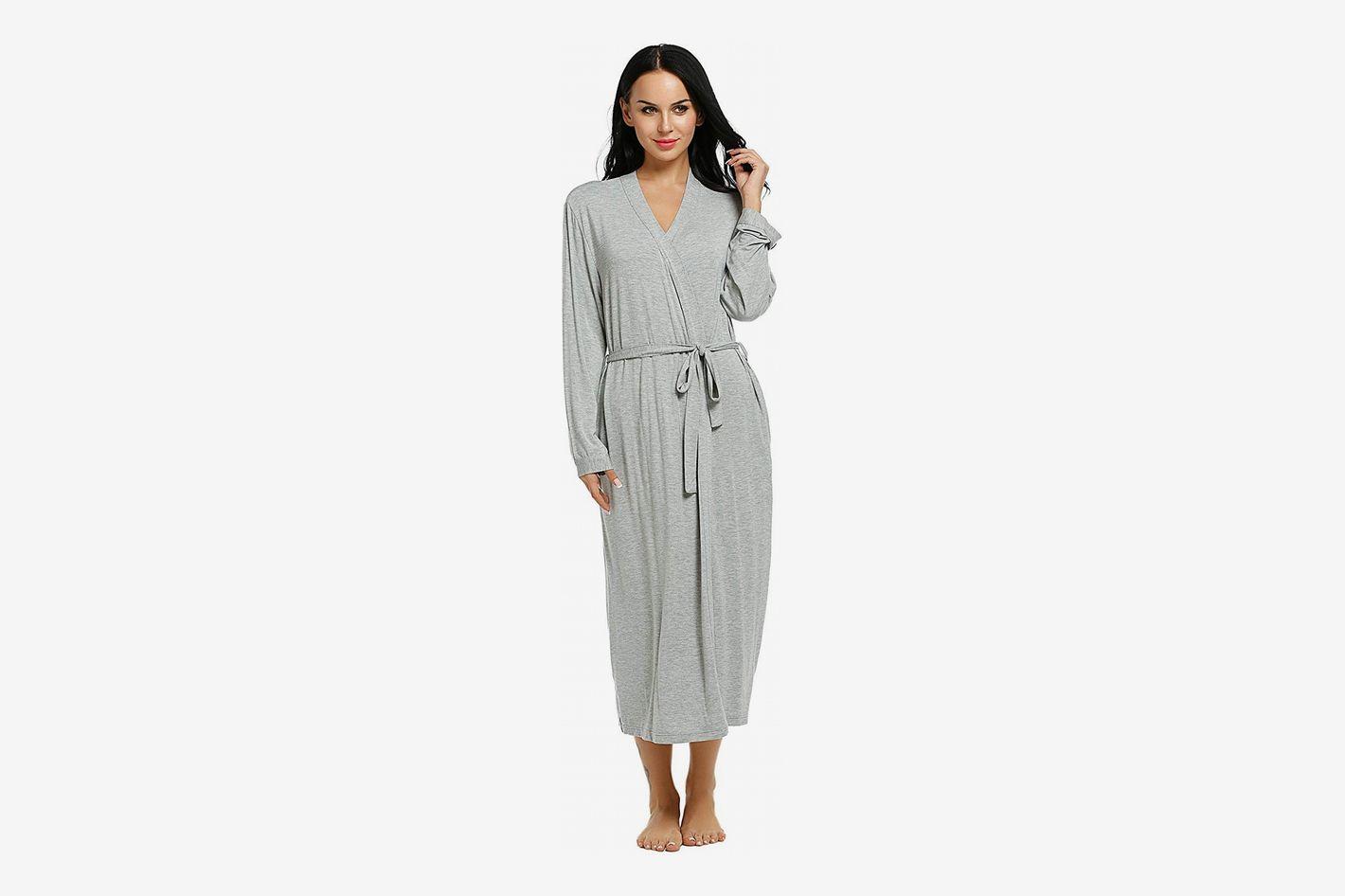 Ekouaer Short Kimono Robe