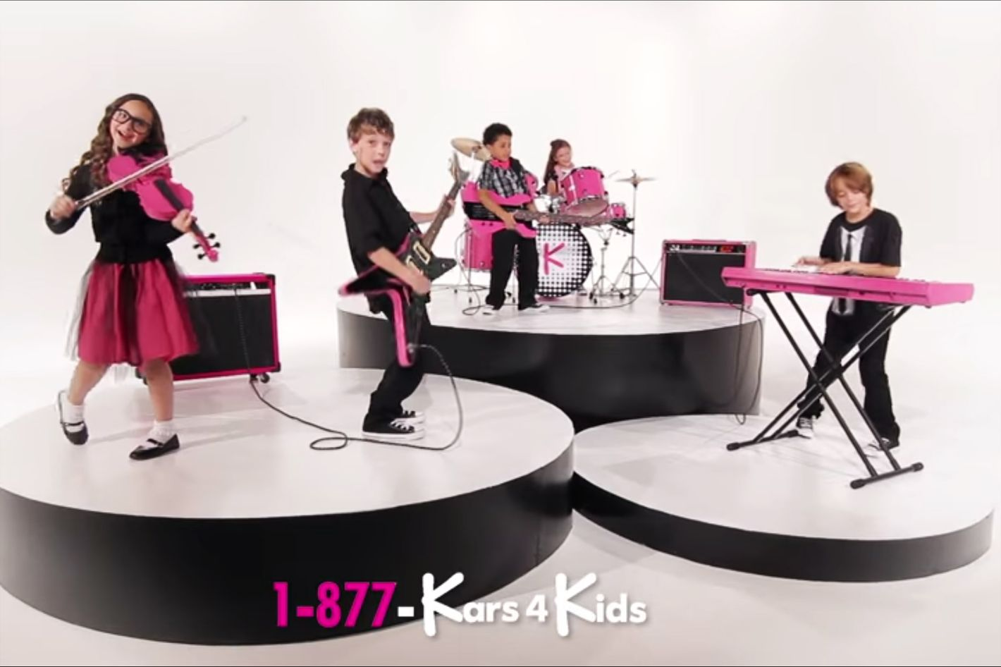 kars4kids is on television the end is nigh