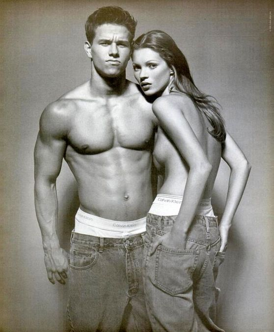 Photo 4 from Mark Wahlberg and Kate Moss, 1992