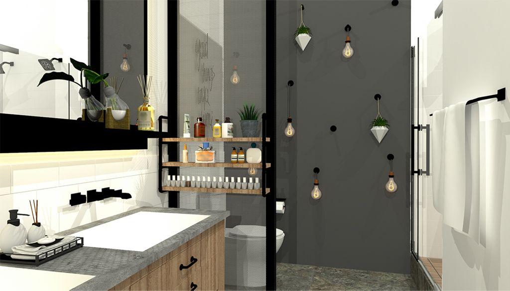 The Final Rendering For Yaneli Rozonu0027s Winning Bathroom Design.