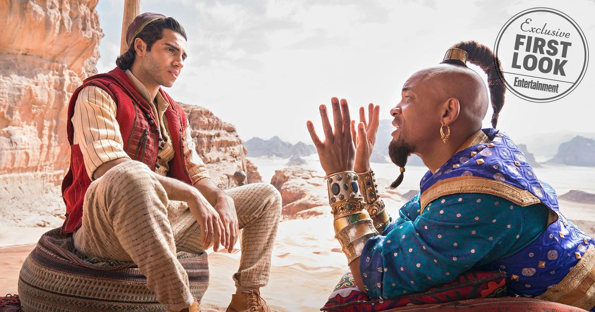 See The First Photos From Disneys Live Action Aladdin