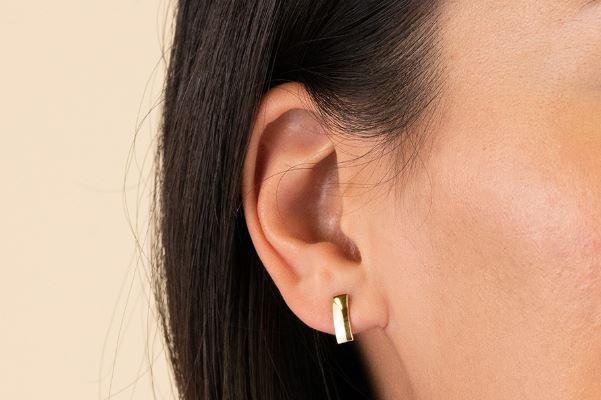 Mejuri Linear Earrings