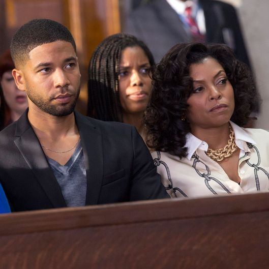 "EMPIRE: Jussie Smollett as Jamal Lyon and Taraji P. Henson as Cookie Lyon in the ""The Devils Are Here"" Season Two premiere episode of EMPIRE airing Wednesday, Sept. 23 (9:00-10:00 PM ET/PT) on FOX.  ©2015 Fox Broadcasting Co. Cr: Chuck Hodes/FOX."