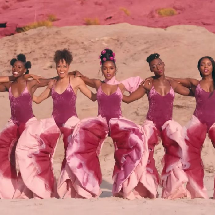 Janelle Monáe in her music video for