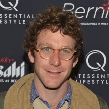 """Artist Dustin Yellin attends the """"Bernie"""" New York Premiere at AMC Loews 19th Street East 6 theater on April 23, 2012 in New York City."""