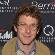 "NEW YORK, NY - APRIL 23:  Artist Dustin Yellin attends the ""Bernie"" New York Premiere at AMC Loews 19th Street East 6 theater on April 23, 2012 in New York City.  (Photo by Slaven Vlasic/Getty Images)"