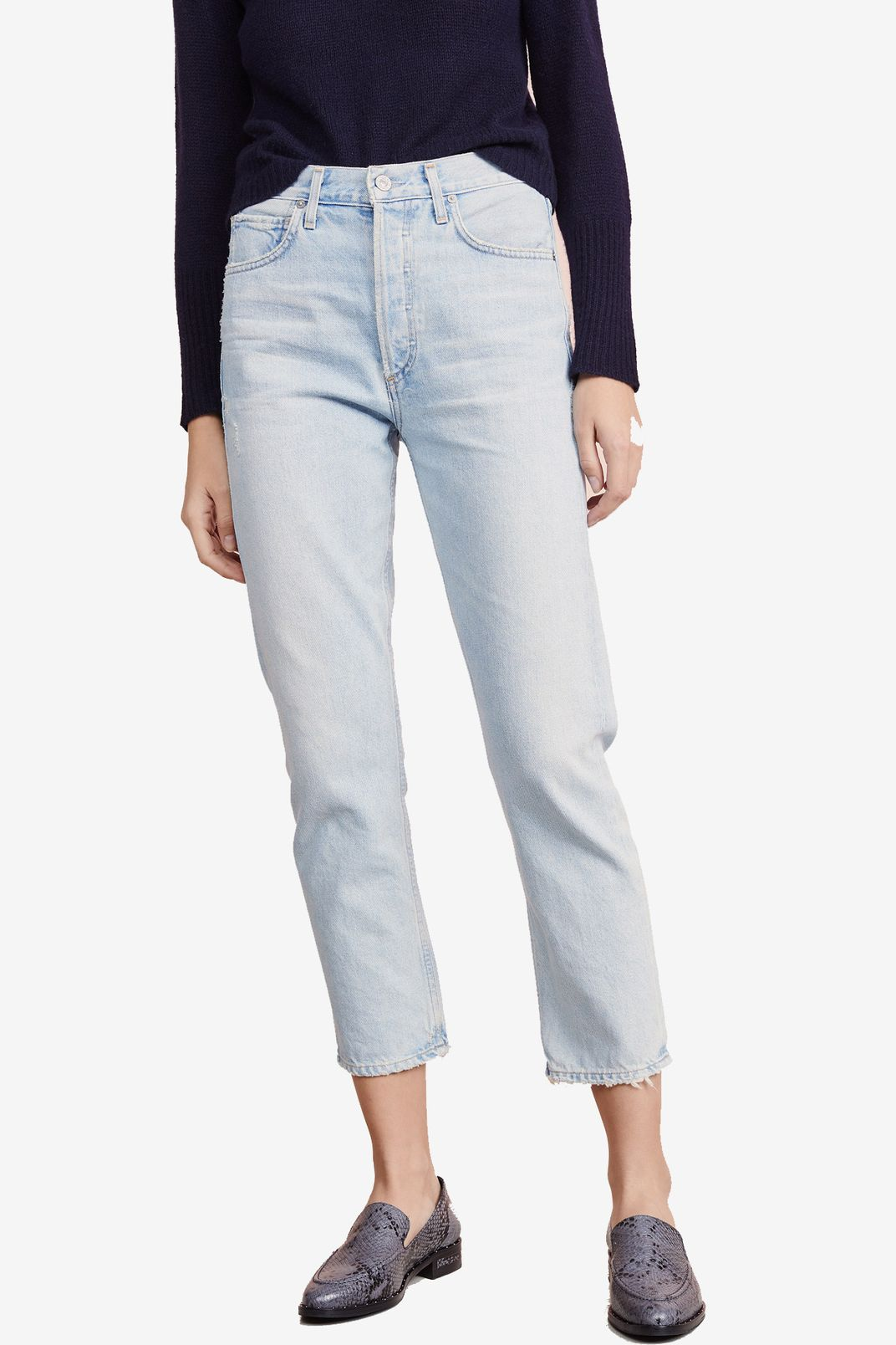 029eba98855960 Citizens of Humanity Charlotte Crop High Rise Straight Jeans