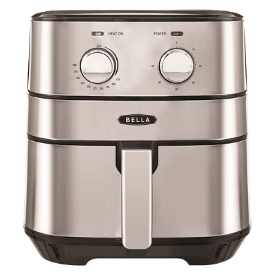 Bella 4qt Analog Air Convection Fryer