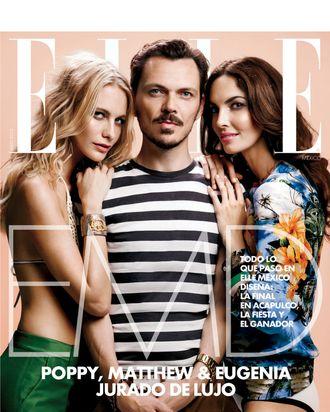 <em>Elle</em> Mexico's July cover.