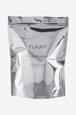 Flaunt by Lauren Napier Protective and Brightening Facial Wipes