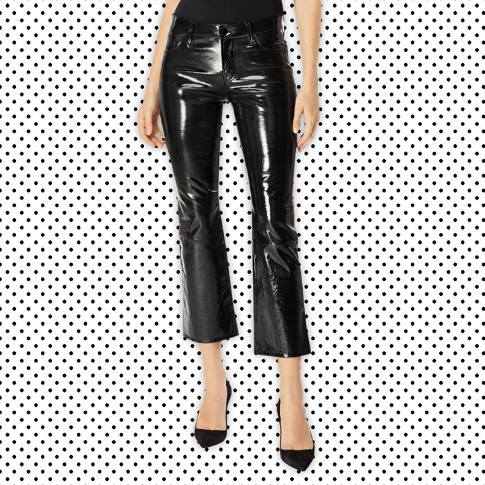 bd96596da8502 Treat Yourself: J. Brand Patent Selena Pants Review