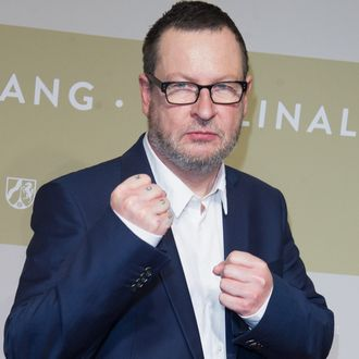 BERLIN, GERMANY - FEBRUARY 09: Lars von Trier attends the NRW Reception at the Landesvertretung on February 9, 2014 in Berlin, Germany. (Photo by Target Presse Agentur Gmbh/Getty Images)