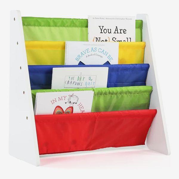 Humble Crew White/Primary Kids Book Rack Storage Bookshelf