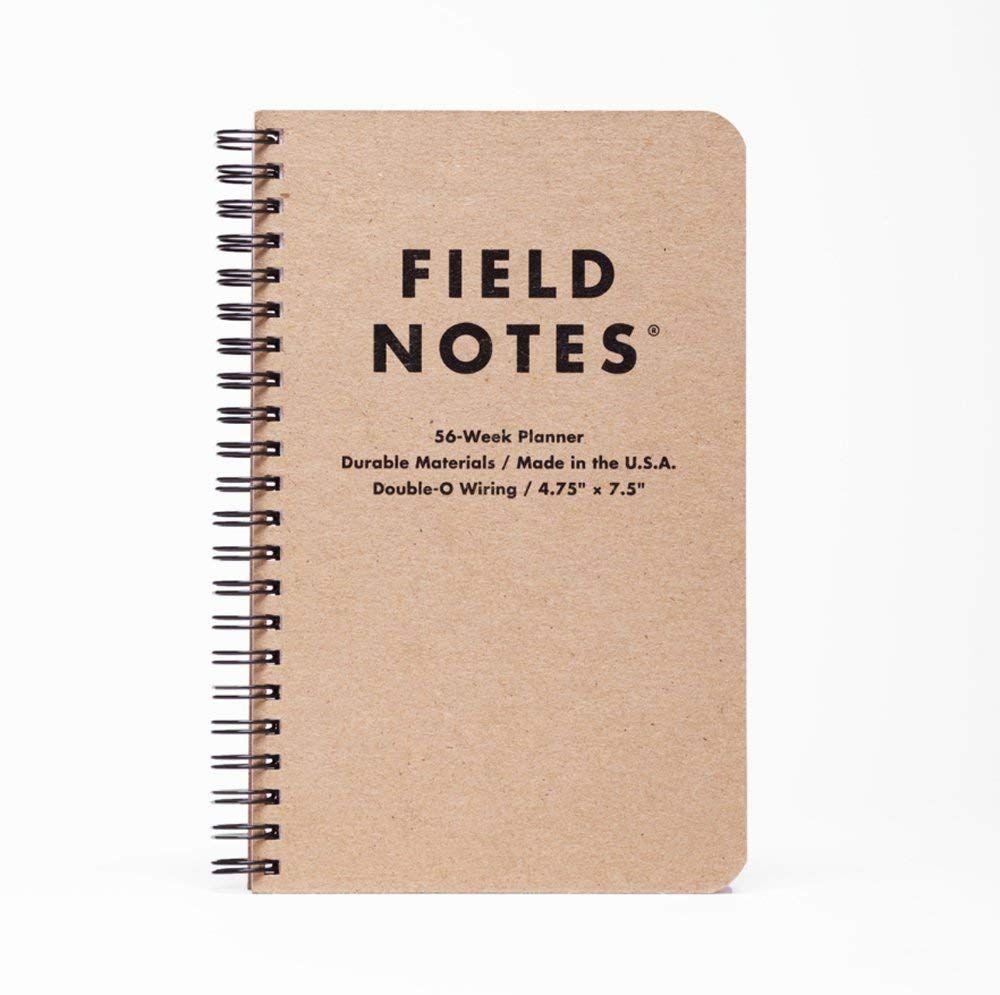 Field Notes — 56-Week Planner