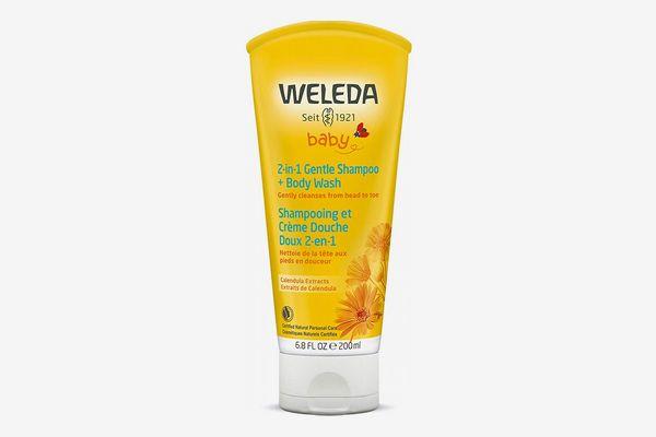 Weleda Baby 2-in-1 Gentle Shampoo and Body Wash, 6.8 Ounces