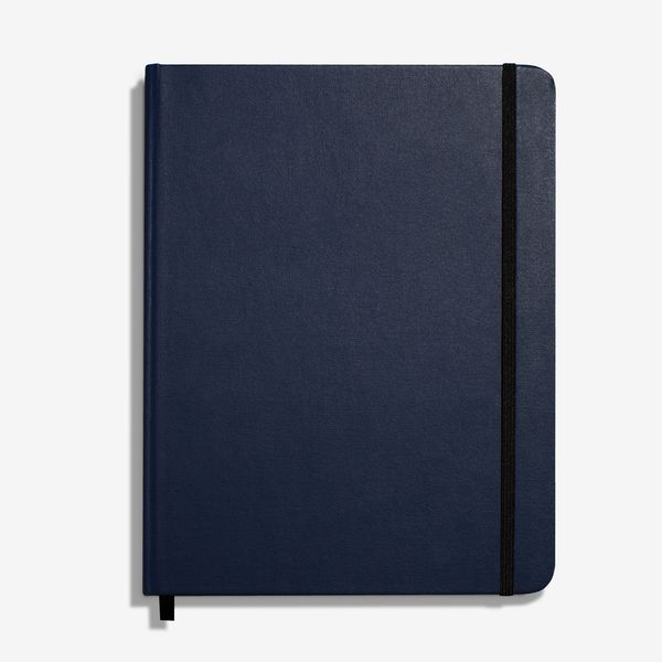 Shinola Large Hard Linen Grid Journal