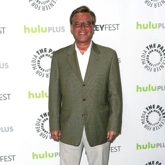 Executive producer Aaron Sorkin attends The Paley Center For Media's PaleyFest 2013 honoring