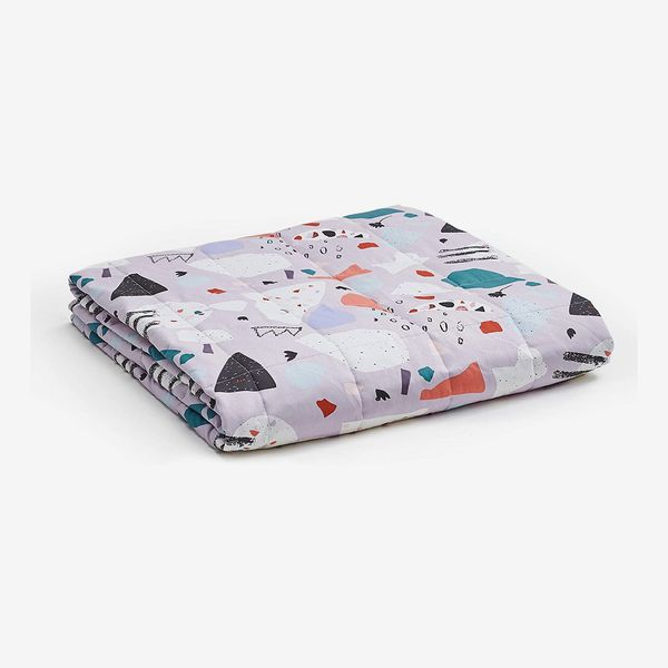 YnM Terrazzo Weighted Blanket