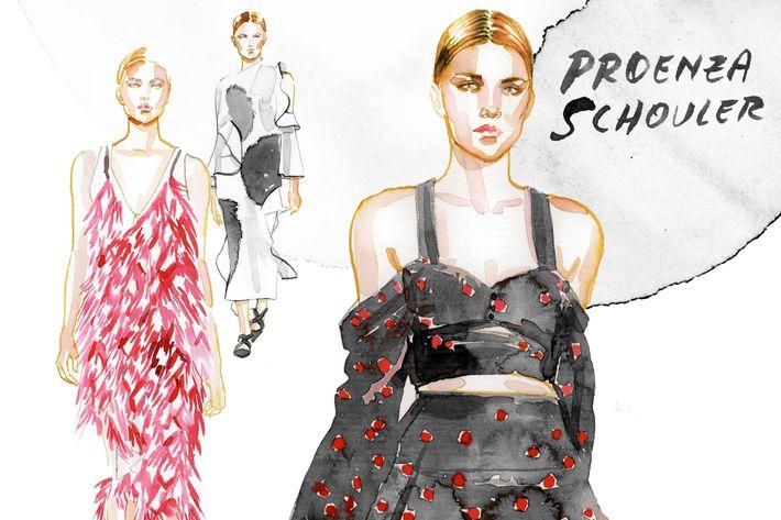 Proenza Schouler, by Samantha Hahn.