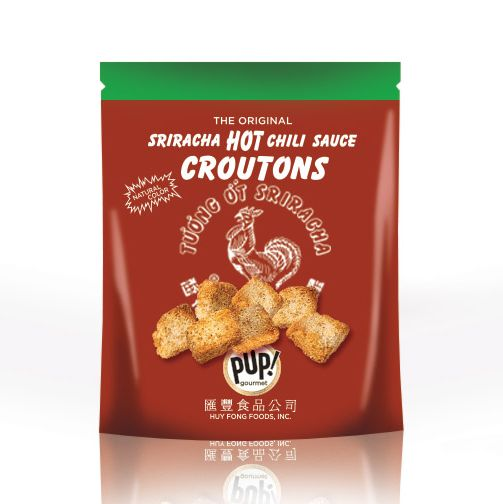 There are even sriracha croutons!