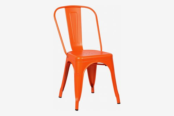Poly and Bark Trattoria Side Chair, Orange