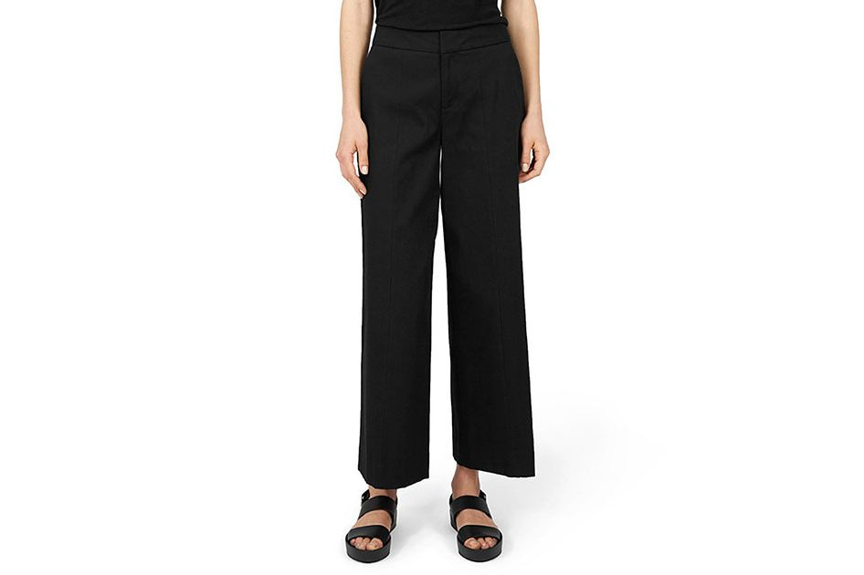 Everlane Wide Leg Structure Pants