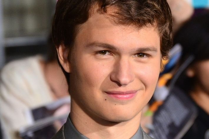 Ansel Elgort's current Wikipedia photo
