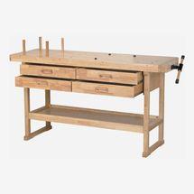 Windsor Design 60-Inch, Four-Drawer Hardwood Workbench