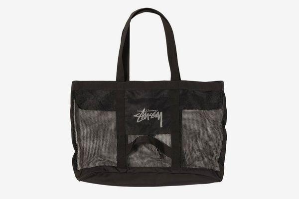 Stussy Mesh Beach Tote Bag