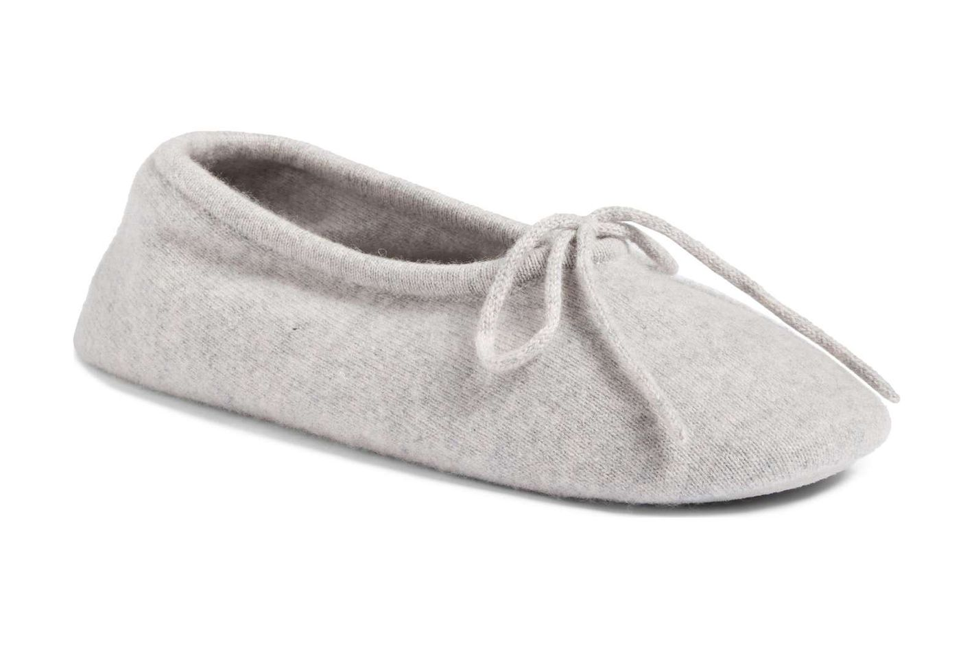 Make + Model Wool and Cashmere Ballerina Slippers