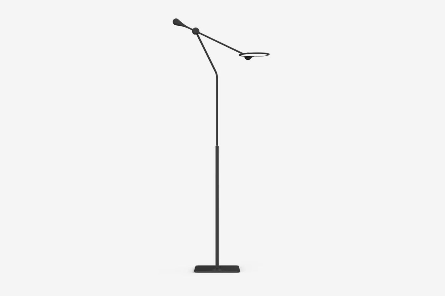 "Light & Contrast Trapeze 72"" LED Task Floor Lamp"
