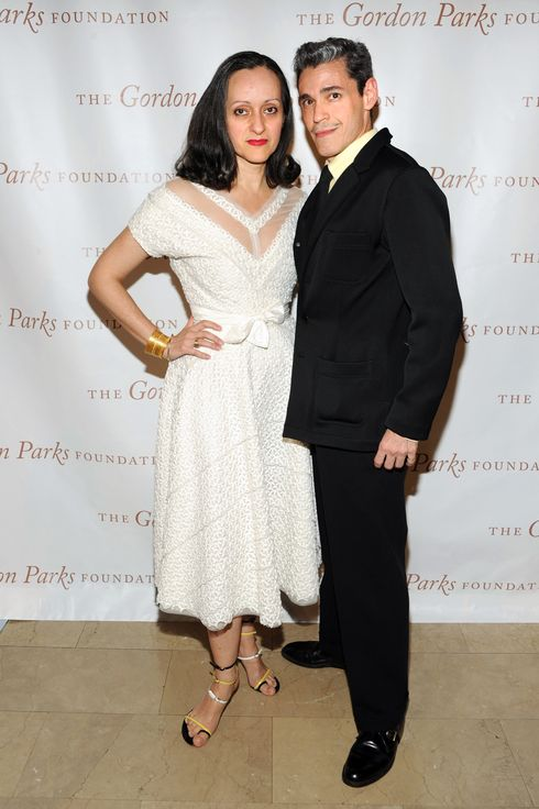 Artists and designers Isabel Toledo and Ruben Toledo attend 2013 Gordon Parks Foundation Awards  at The Plaza Hotel on June 4, 2013 in New York City.