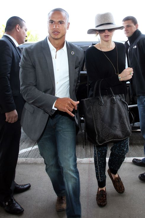 J Law Overshadowed By One Hunky Bodyguard The Cut