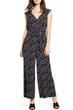 Leith Everyday Mini Dot Jumpsuit