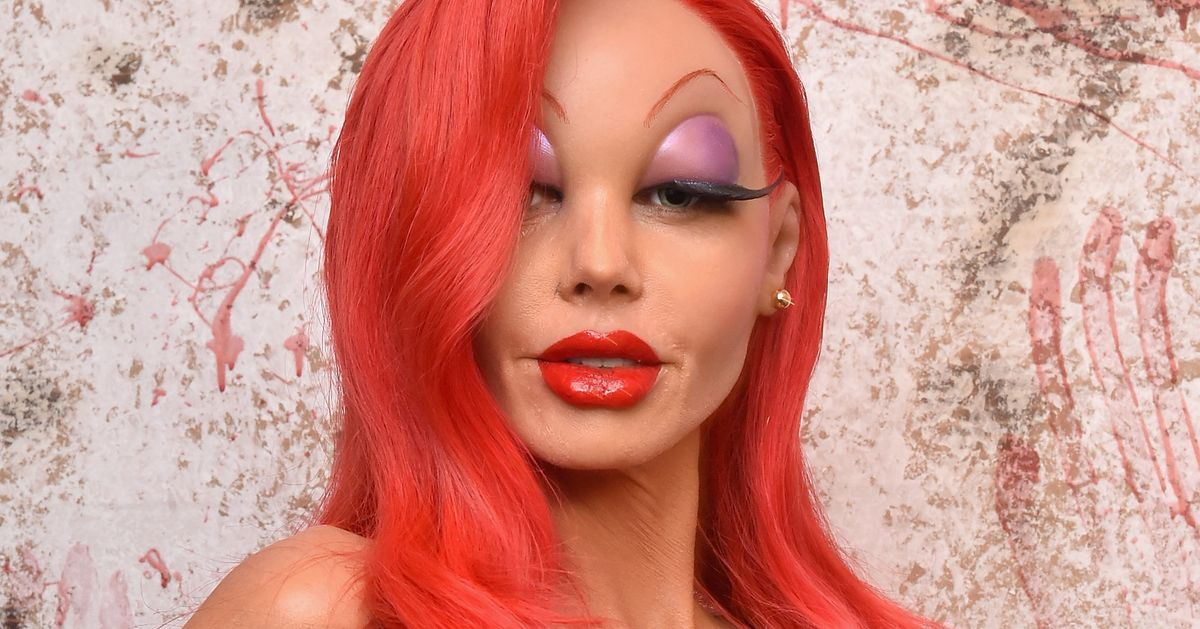 Heidi Klum As Jessica Rabbit Wins Halloween    Vulture