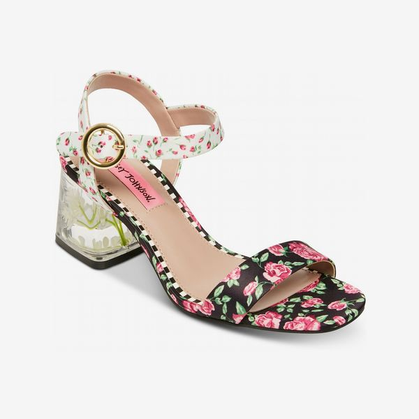 Betsey Johnson Livvie Block-Heel Sandals