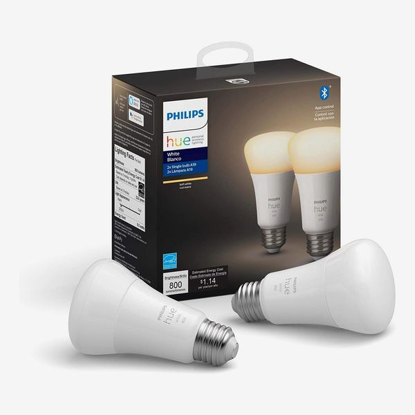 Philips Hue White 2-Count LED Smart Bulb