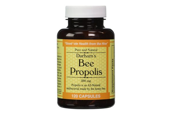 Durham's Bee Propolis 500 mg 120 Capsules