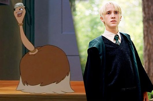 Draco Malfoy Is Fifi The Feather Duster