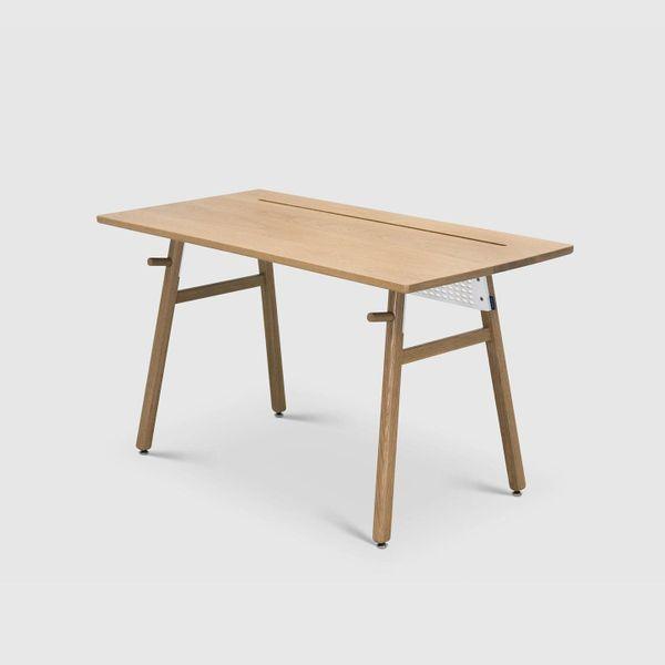 The Artifox Desk, White Oak