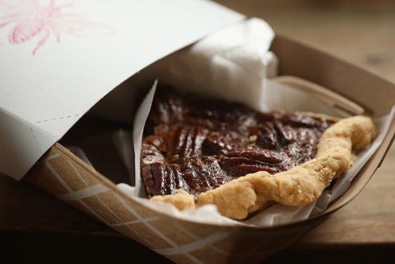 Brown butter and honey pecan pie.