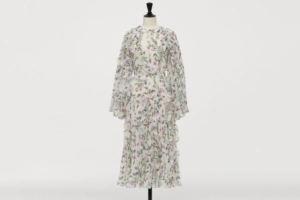 H&M x Giambattista Valli Chiffon Dress