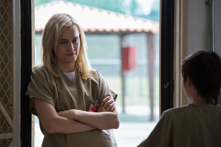 Taylor Schilling as Piper.